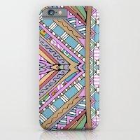 Sweet Funky Retro Mandala iPhone 6 Slim Case