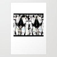 Seperation Art Print