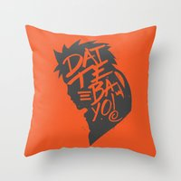 Will Of Team 7 [Orange-A… Throw Pillow