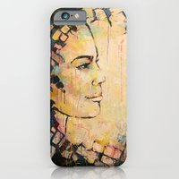 Looking to the Future -beautiful woman iPhone 6 Slim Case