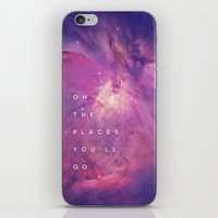 The Places You'll Go II iPhone & iPod Skin