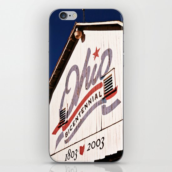 OHIO COLOR  iPhone & iPod Skin