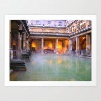 The Baths Art Print