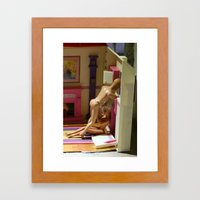 Barbie & Ken Framed Art Print