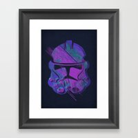 Splash Trooper Framed Art Print