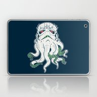 Laptop & iPad Skin featuring Stormthulhu by Hillary White