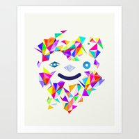Chromatic character  Art Print