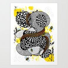 Buzzzz.....  Art Print