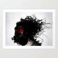 Ghost Warrior Art Print