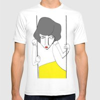 Maya Mens Fitted Tee White SMALL