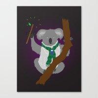 Magical Koala Canvas Print