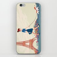 An Afternoon Stroll In P… iPhone & iPod Skin