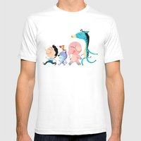 Parade Mens Fitted Tee White SMALL