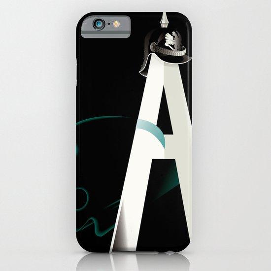 Tyranny of the Alphabet iPhone & iPod Case