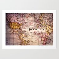 Art Print featuring Wander by Sylvia Cook Photogra…