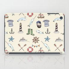 Nautical Pattern iPad Case