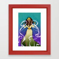 the Sorceress Framed Art Print