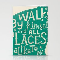 'The Cat That Walked By … Stationery Cards