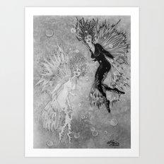 Fairy - The Veelas Art Print