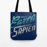 Earth Sapien Tote Bag