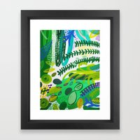 Between The Branches. IV Framed Art Print