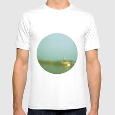 Watercolor Memories Mens Fitted Tee SMALL White