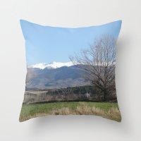 Pyrenees - Spain Throw Pillow