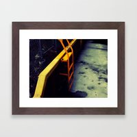 Ladder Framed Art Print