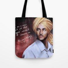 Shaheed Bhagat Singh Tote Bag