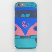 iPhone & iPod Case featuring kombi shadow 02 by vin zzep