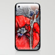 Poppies(crystal). iPhone & iPod Skin