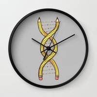 It's in my DNA Wall Clock