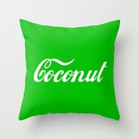 Coconut Throw Pillow