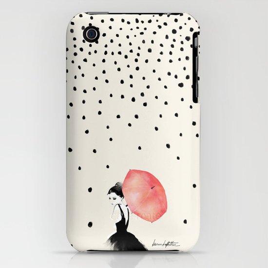 Polka Rain iPhone & iPod Case