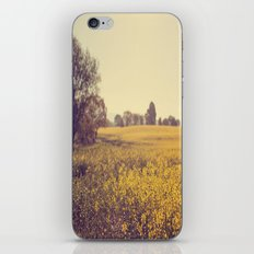 Vintage Field  iPhone & iPod Skin