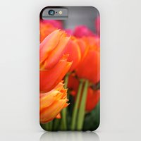iPhone & iPod Case featuring Cheery Tulips by Jennifer Rogers