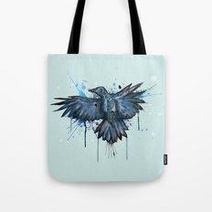 SkeleCrow Tote Bag