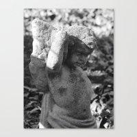 Cemetery Angel 2016 II Canvas Print