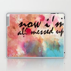 Tegan and Sara: Now I'm All Messed Up Laptop & iPad Skin