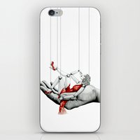 Lady In Red iPhone & iPod Skin