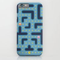 iPhone Cases featuring Pacman by studio VII
