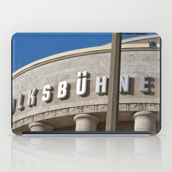 Volksbühne - Theater - Rosa-Luxemburg-Platz - Berlin - Germany  iPad Case