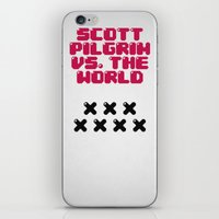 Scott Pilgrim Vs. The Wo… iPhone & iPod Skin