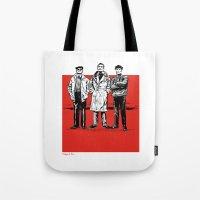 Three dudes Tote Bag