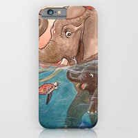 elephants iPhone & iPod Cases featuring Elephants by Paloma  Galzi