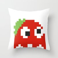 Zombie Ghost Throw Pillow