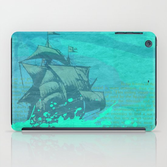 Sea Route iPad Case