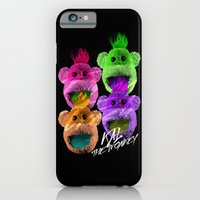 iPhone & iPod Case featuring Kal the Monkey - Kal Warhol by Halucinated Design