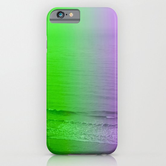 green + purple iPhone & iPod Case