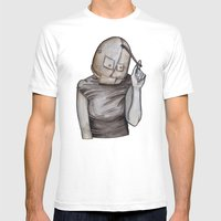 Coy Conformity Mens Fitted Tee White SMALL